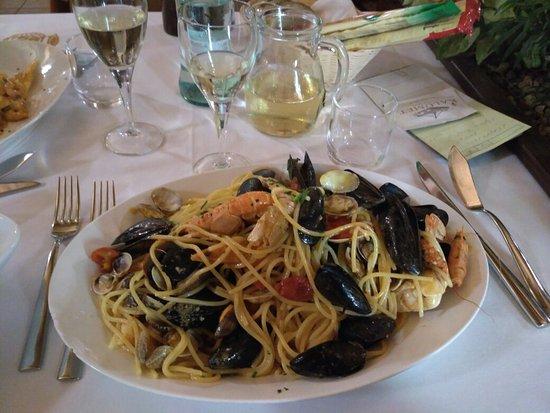 cucina di pesce a Milano Marittima alla Braceria Sorrento