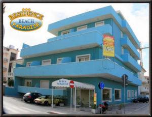appartamenti in affitto Rimini al Residence Beach Paradise Viserba di Rimini