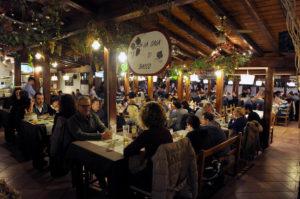 giardino del ristorante La Posada