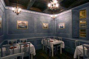sala dell'Osteria La Marianna a Rimini