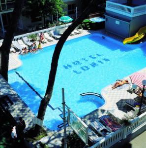 piscina Hotel Villa Loris Bellaria Igea Marina